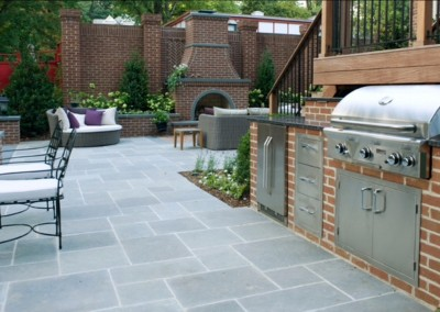 Bluestone outdoor pavers
