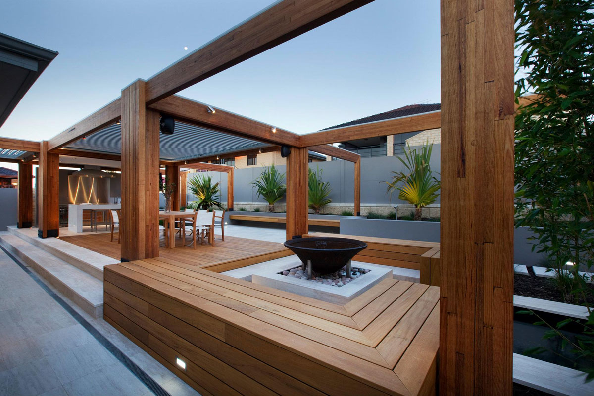 Timber and composite timber decking design and construction for External timber decking