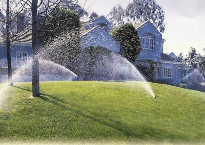 irrigation system automated fot large lawn areas in Melbourne