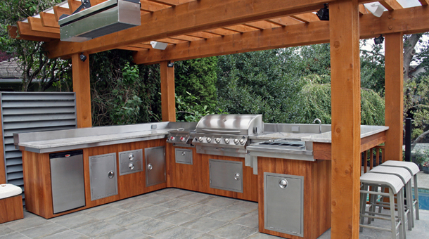 Outdoor Kitchens Melbourne Landscaping Design Construction