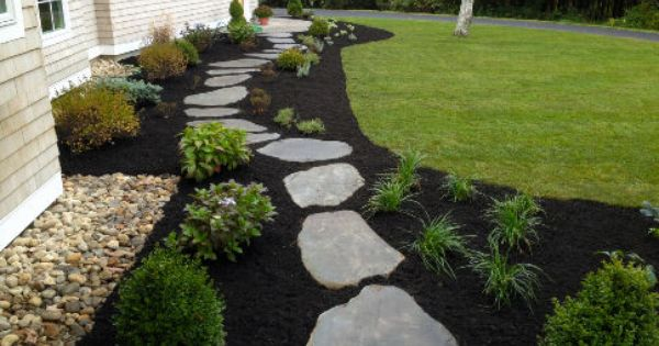 Landscaping With Mulch And Stone : Planting and mulching service melbourne landscaping