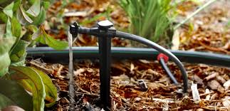 Automated drip system for garden beds