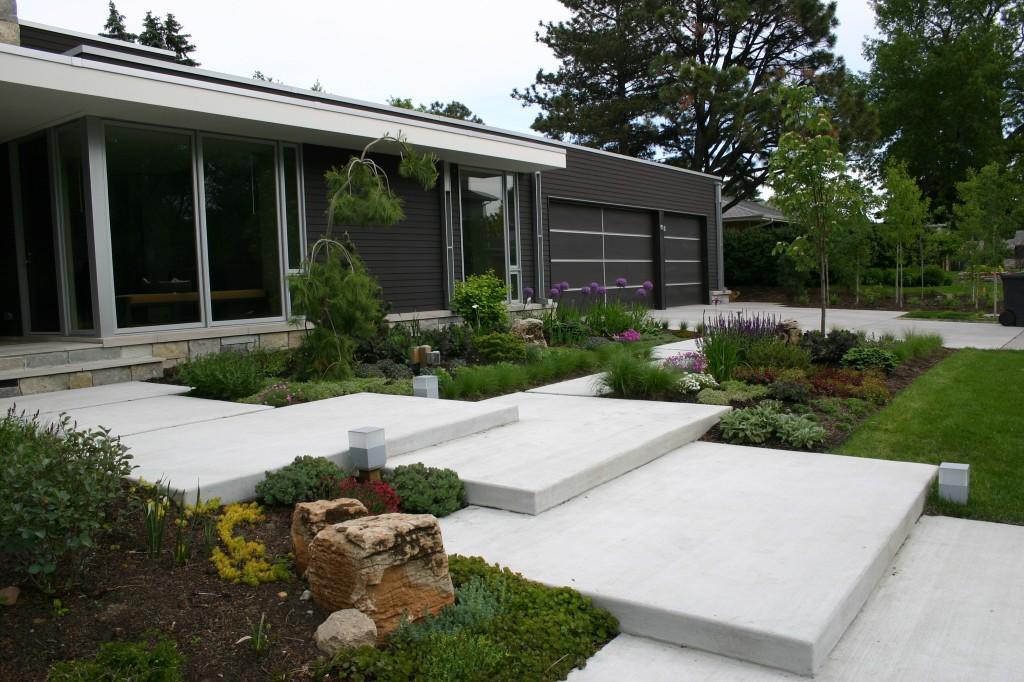 Modern Garden Design In Bentleigh