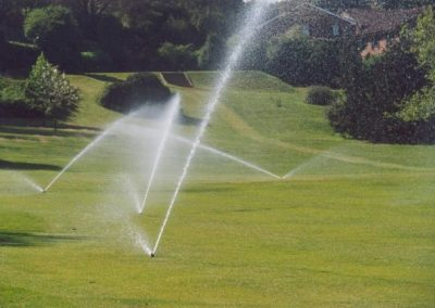 Sprinkler System for large lawn areas