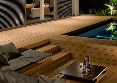 Composite timber decking in the Melbourne suburb of Malvern