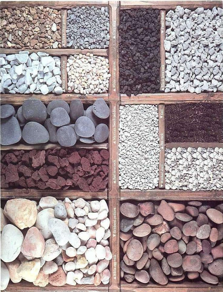 Garden Pebbles Selection