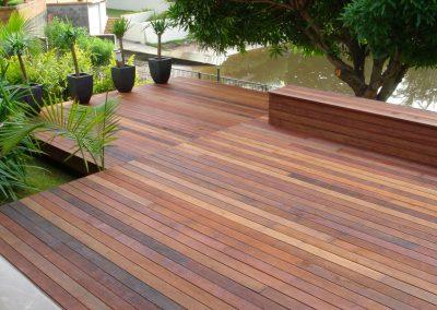 Ironwood timber decking