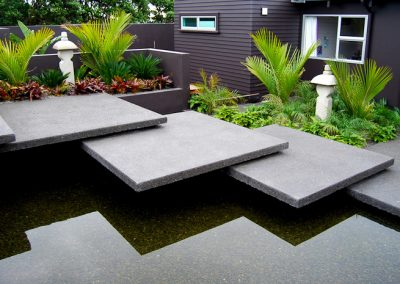 Extra large flagstone paving modules