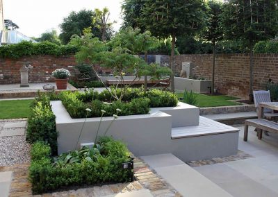 Malvern area Landscaping project we complted from design stage