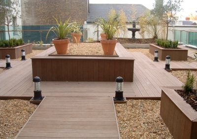 Compostie timber decking