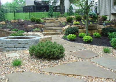 garden-design-with-stones-garden-stones-pebbles-fireplace