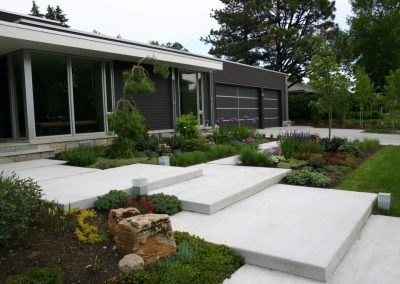 Modern garden design in Bentleigh
